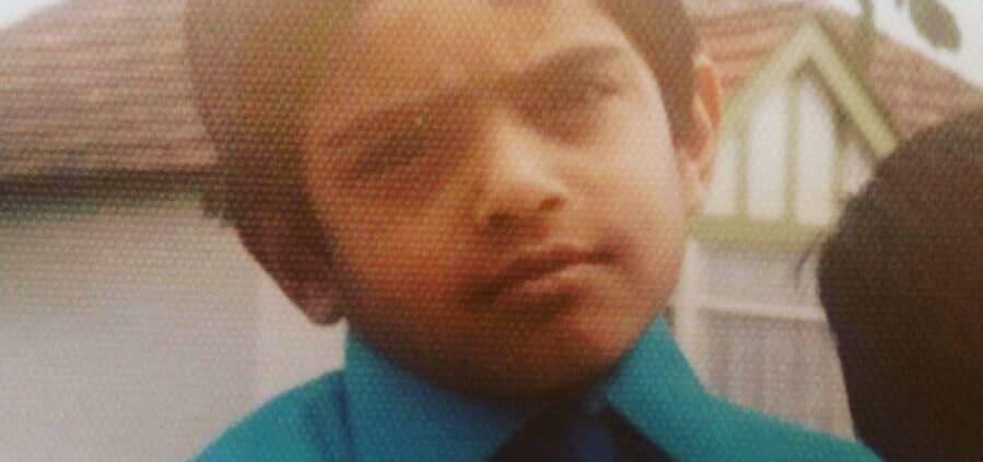 Child Piyush Patel