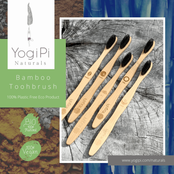 Five Element Bamboo Toothbrush